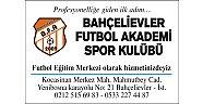 Bahçelievler Futbol Akademi Spor Kulübü