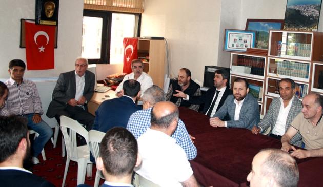 Selami Aykut Bahçelievler Trabzonlular Derneği?ne başkan seçildi