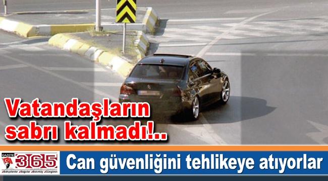 Bakırköy'de güpegündüz drift kâbusu