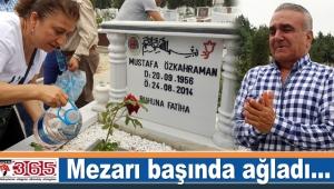 Mustafa Özkahraman mezarı başında anıldı