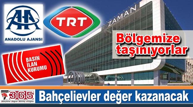 TRT, AA ve Basın İlan Kurumu Bahçelievler'e taşınıyor