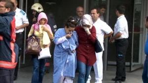 Yenibosna'da bir hastanede çıkan yangın korkuttu