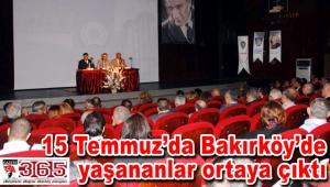 Bakırköy'de 'Huzur toplantısı' gerçekleştirildi