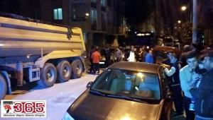 Güngören'de müteahhitle mahalleli arasında kavga çıktı
