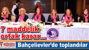3. Bölge Kadın Meclisleri Bahçelievler'de toplandı