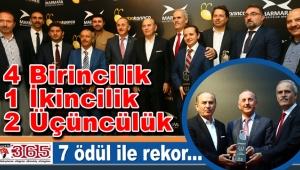 Bağcılar Belediyesi 7 ödül ile rekor kırdı