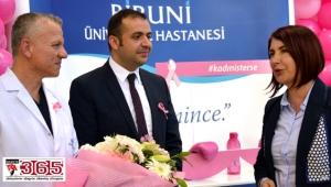 Biruni Üniversite Hastanesi meme kanserine dikkat çekti