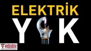 DİKKAT! 3 gün 3 ilçede elektrik kesintisi…