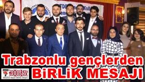 Gençlerin yeni Başkanı Abdulkadir Meriç...