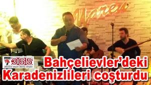 İsmail Türüt'ten Yaren Kafe'de müthiş konser…
