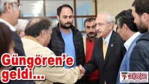Kemal Kılıçdaroğlu'ndan Güngören'deki şehit ailesine ziyaret…