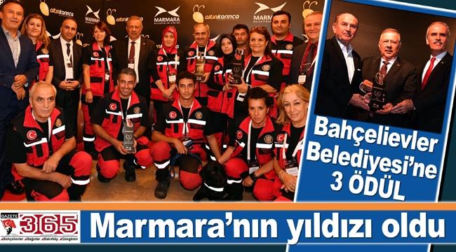 Marmara Belediyeler Birliği Altın Karınca Ödülleri sahiplerini buldu