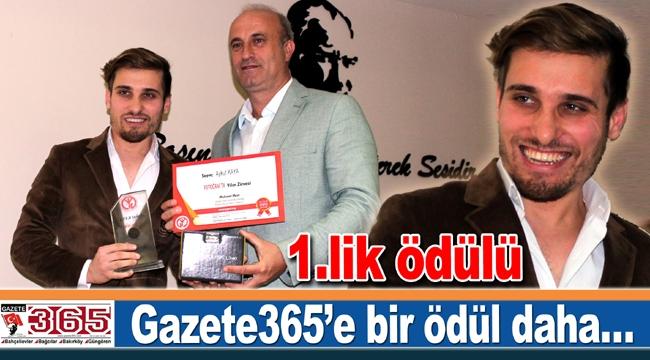 """Muhabirimiz Aykut Kaya, """"Fotoğrafta Yılın Zirvesi"""" ödülünü aldı"""