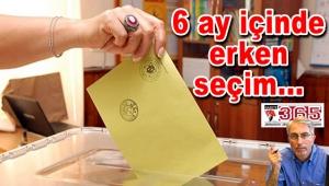 Nisan 2017'de erken seçim mi var?..