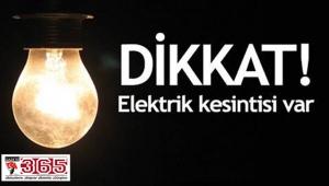 O ilçede 3 gün üst üste elektrik kesintisi…