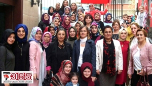 Of - Solaklılı kadınlar CUMDER'de buluştu