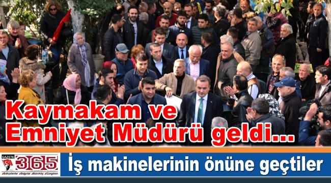 Osmaniye İstiklal Spor Kulübü'nün yıkımını vatandaşlar engelledi