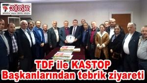 Selami Aykut'a TDF ile KASTOP Başkanlarından tebrik ziyareti…