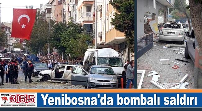 Yenibosna'da bombalı saldırı