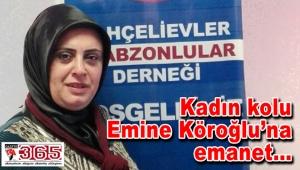 Bahçelievler Trabzonlular Derneği Kadın Kolu'nda görev dağılımı…
