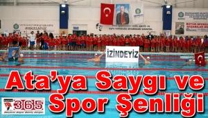 Bakırköy'de 'Ata'ya Saygı ve Spor Şenliği' yapıldı