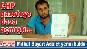 CHP gazeteye açtığı davayı kaybetti...