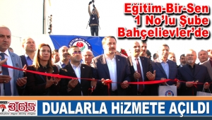 Eğitim-Bir-Sen İstanbul 1 No'lu Şube Bahçelievler'de…