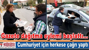 Nurhan Çetinkaya'dan Cumhuriyet Gazetesi için destek çağrısı...