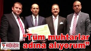 Selami Aykut'a, 'Ömer Halisdemir Şeref Ödülü'…
