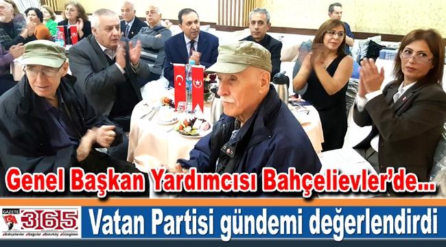 Vatan Partisi Bahçelievler'de ülke gündemini ele aldı