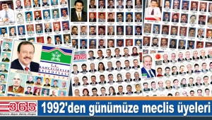 1992'den günümüze Bahçelievler'de belediye meclis üyesi seçilenler...