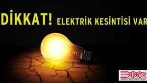 3 ilçede 3 gün elektrik kesintileri yaşanacak