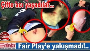 Bahçelievler Olimpikspor ve Güngören Altinovaspor maçında olaylar…