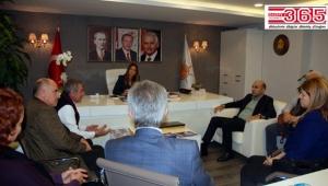 Bakırköy Belediye Başkanı Kerimoğlu'ndan AK Parti'ye ziyaret…