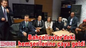 Başkan İmamoğlu'ndan Trabzonlular Derneği'ne ziyaret…