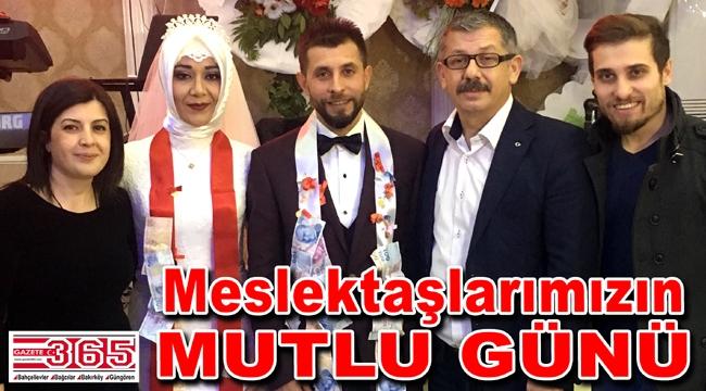 Gazeteci Mithat Sayar ve Nermin Kanmaz evlendi