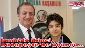 İhlas Koleji öğrencisi buz pateninde Türkiye ikincisi oldu