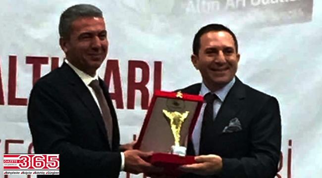 İşadamı Özkan Ercan'a bir ödül daha…