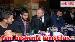 İstanbul Güngörenspor'un yeni başkanı sporcularla buluştu