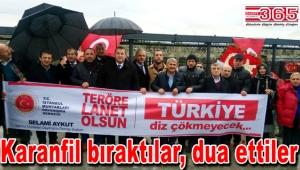 İstanbul muhtarları Şehitler Tepesi'ne gitti…