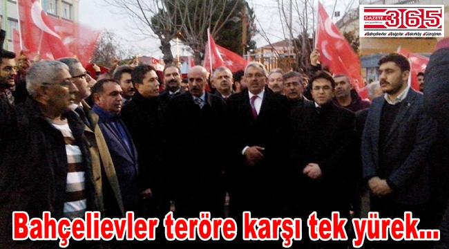 MHP'liler Beşiktaş şehitleri için yürüdü