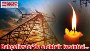 O mahallede 3 gün elektrik kesintileri yaşanacak