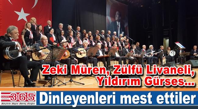 TSM Cumhuriyet Korusu ilk konserinde tam not aldı