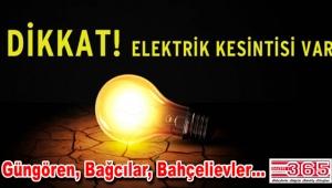 24-25 ve 26 Ocak'ta elektrik kesintileri yaşanacak
