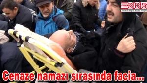 Ataköy Camii'nde tente çöktü: Ölü ve yaralılar var…