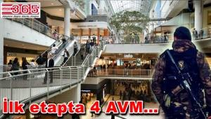 Artık AVM'lerde emekli özel harekatçılar görev yapacak