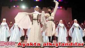 Bakırköy'de Kafkas halk danslarına yoğun ilgi…