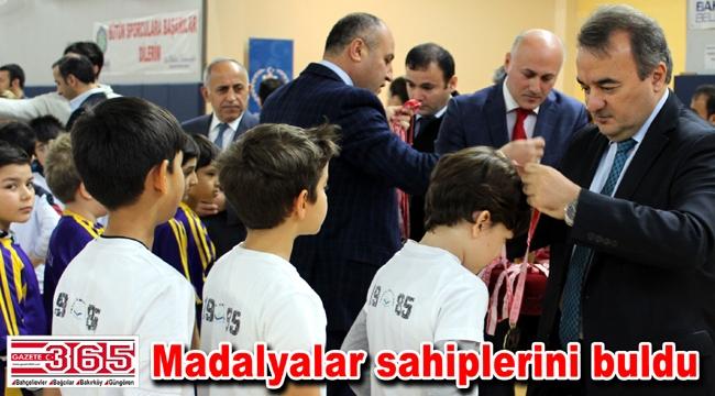 Bakırköy'de düzenlenen Futsal turnuvası sonuçlandı…