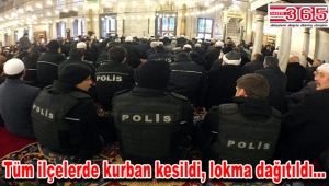 Beşiktaş'taki terör saldırısı şehitleri için mevlit okutuldu