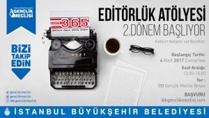 İBB Gençlik Meclisi Editörlük Atölyesi'nde 2.dönem başlıyor
